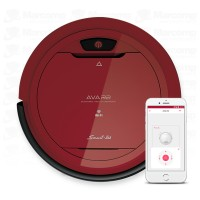 Aspiradora Robot Smart-tek Ava R2 Wifi Control Movil (Roja)