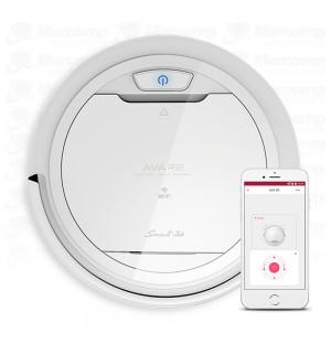 Aspiradora Robot Smart-tek Ava R2 Wifi Control Movil (Blanca)