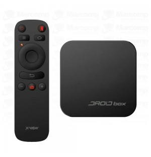 Droid Box Plus Xview Tv Smart 4k Hdmi Teclado Netflix Youtube