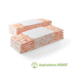 Paños descartables Humedos x10 para Trapeadora iRobot