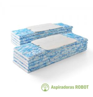 Paños descartables Mojados x10 para Trapeadora iRobot