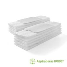 Paños descartables Secos x10 para Trapeadora iRobot